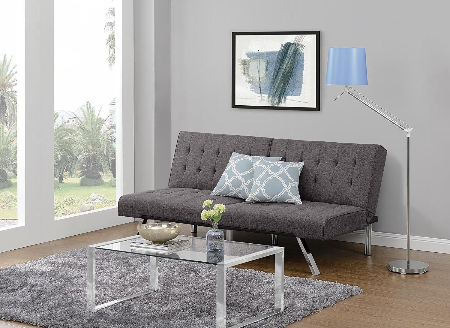 Sofa with Linen Futon